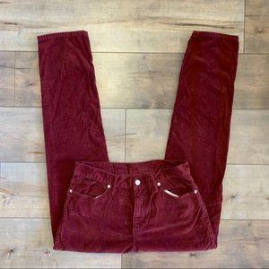 Standard Cloth Skinny Tapered Corduroy Pants